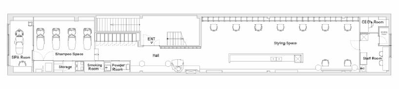 # end...Link 空間連結:Yasunari Tsukada在日本大阪的簡約木框架沙龍! 10