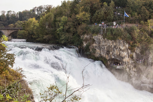 Rhine Falls in Switzerland | World Traveling Military Family