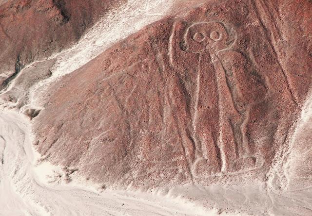 Las líneas de Nazca - El astonauta - HistoriadelasCivilizaciones.com