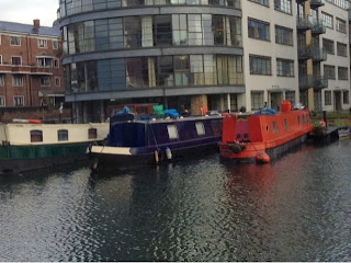 canal boats in Kings Cross