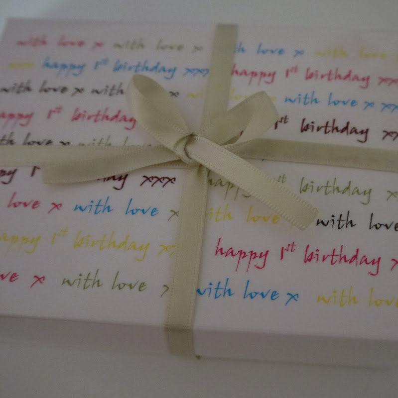 Gift Wrapped Baby Gifts Uk : Personalised gift box new baby shower christening