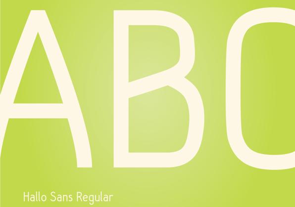 Hallo Sans Free Fonts