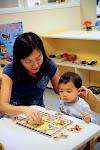 LePort Montessori Preschool Toddler Program Irvine Spectrum - guided activity