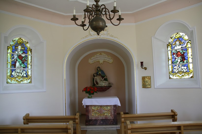 Innenraum der Soldatenkapelle