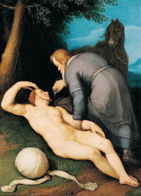 Cornelis Cornelisz van Haarlem - The Good Samaritan (1627)