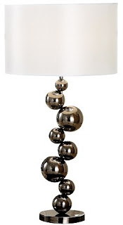The perfect table lamp for the fashionista: Modern Bubble from FunkyLight.com