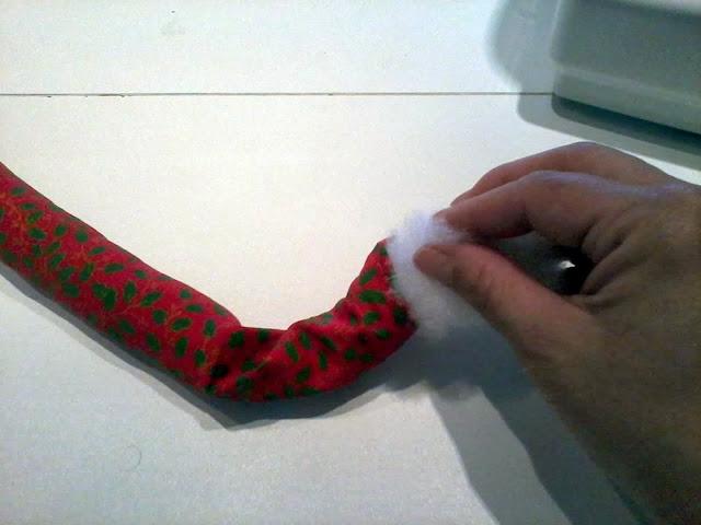 Como colocar enchimento em tecido