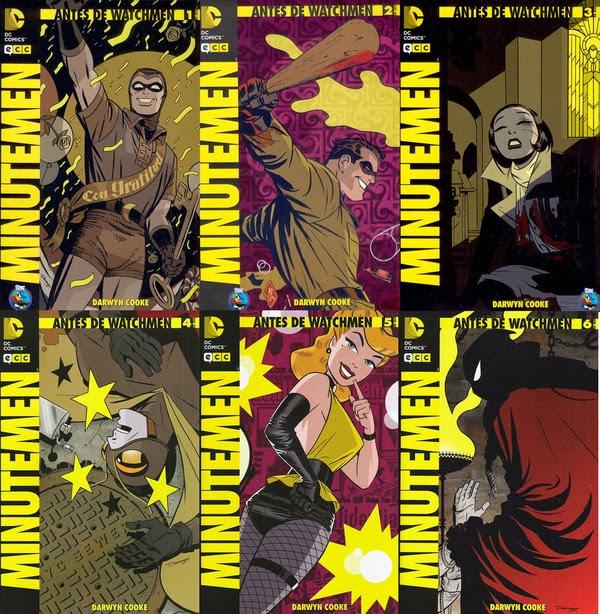 Antes de Watchmen: Minutemen [1-6][C�mic][Espa�ol]