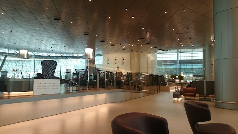 DSC 4999 - REVIEW - Qatar Al Mourjan Business Class Lounge, Doha (September 2014)