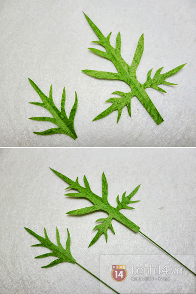 hoa+giay+7 Cách làm hoa trang trí đơn giản từ giấy