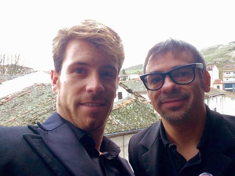 Álex Navarro y Alfonso Quinto en Cuéllar