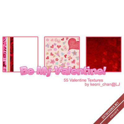 Be My Valentine – 55 Textures
