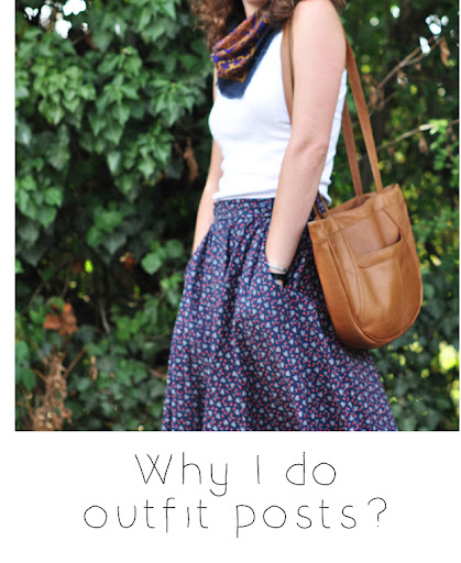 why I do outfit posts?