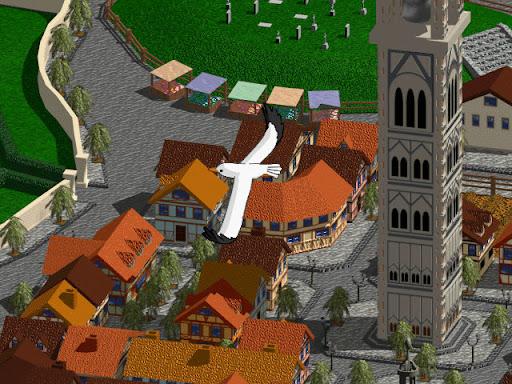 神奇传说之时空道标 截图 城镇画面