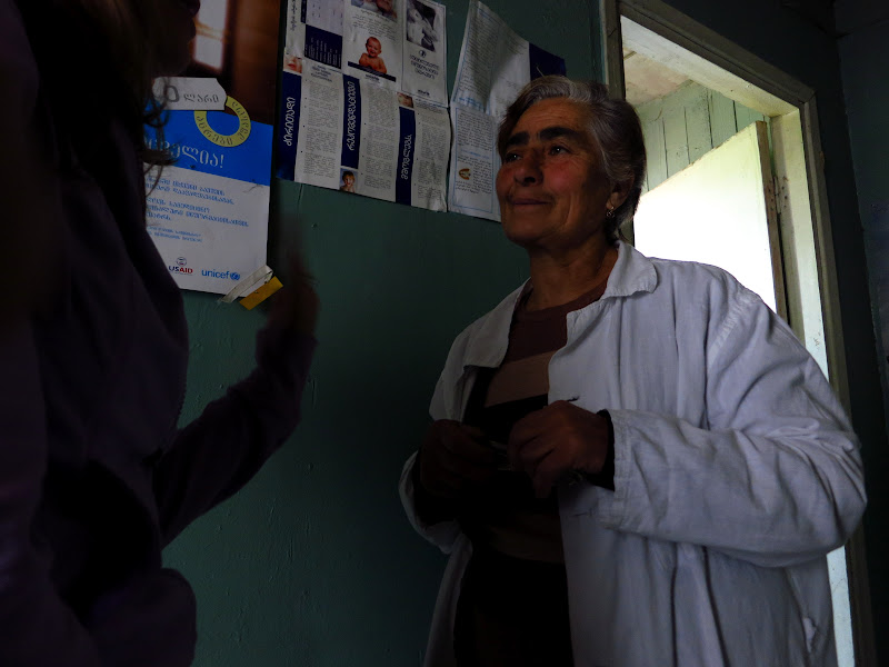 One of the nurses