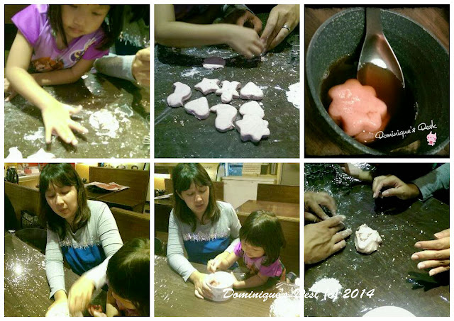 Making TangYuan  together