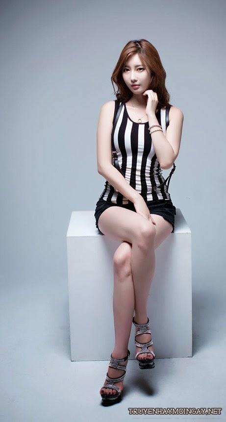 Body căng mịn của người mẫu 9x Hàn Quốc
