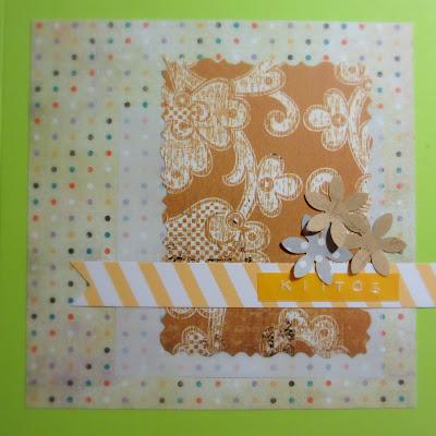 Limen värinen kortti