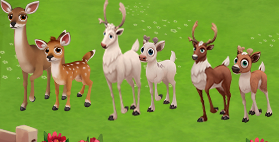 FarmVille 2 Cheats Codes for Deers