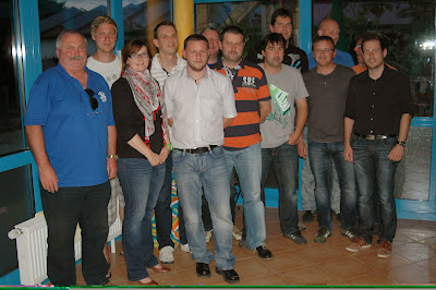 Der neugewählte Vorstand des SV Grafentraubach mit den Ausschussmitgliedern