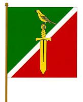 Прапор села Русанів