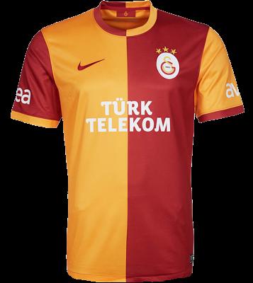 Jual Jersey Galatasaray Home Terbaru 2014