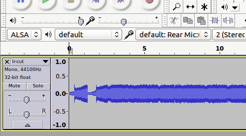 how to make wav work for audacity