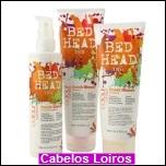 bed head colour combat dumb blonde 2 - Tigi Bed Head para descoloridas.