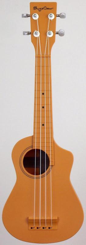 Bugsgear Aqulele plastic soprano ukulele