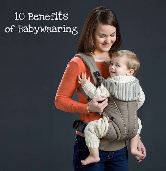 10 benefits of babywearing for you and your baby