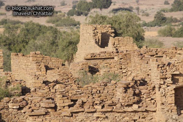 Kuldhara Village in Jaisalmer - Ruins of a Market