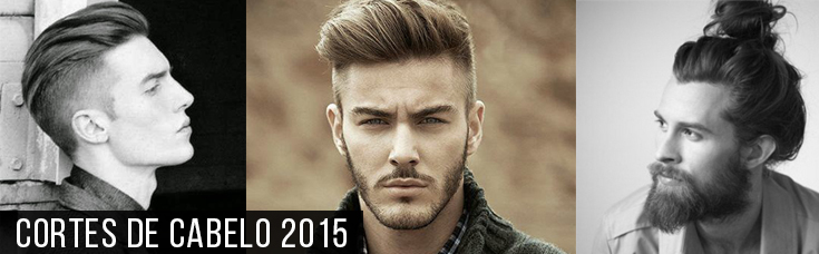 Cortes de Cabelo Masculino para 2015