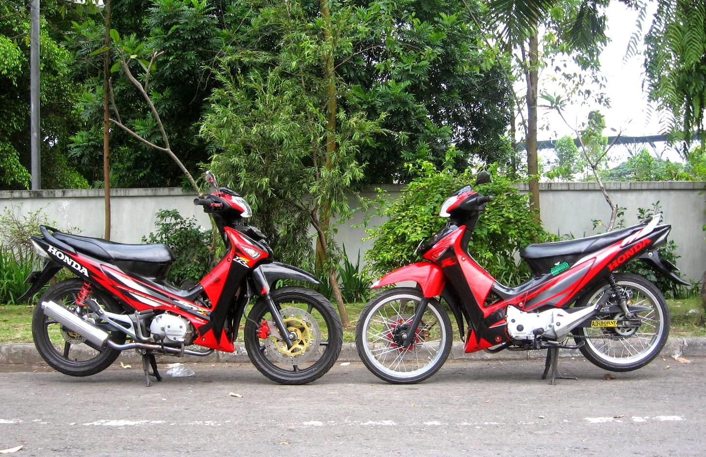 Supra X 125 Modifikasi Standar