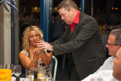 Wedding Magician and Entertainer Andy Kirk