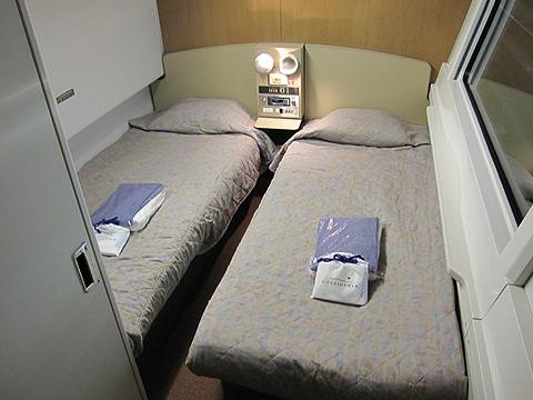 JR寝台特急「カシオペア」 2号車 カシオペアスイート 客室 その2