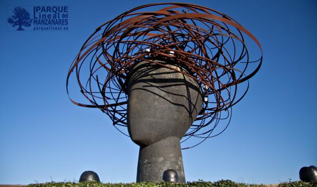 cabeza de ariatna, parque manzanares