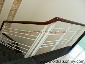 Tay vịn cầu thang gỗ 12