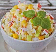 Фото: крабовый салат