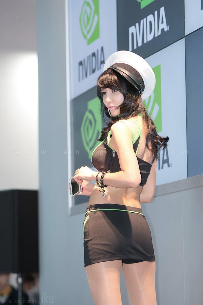 Showgirl G-star 2012: Cha Sun Hwa - Ảnh 33