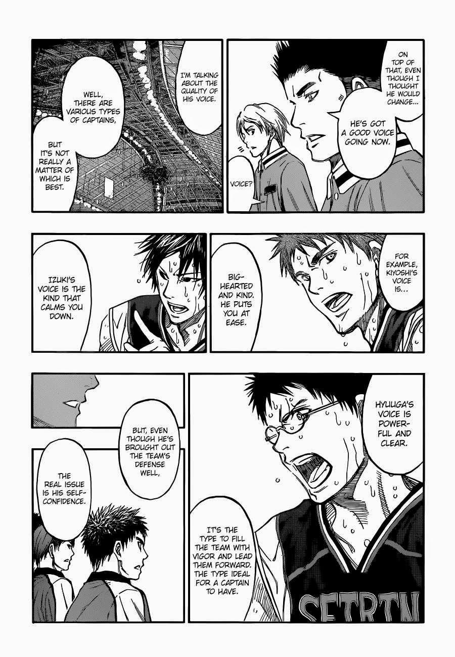 Kuroko no Basket Manga Chapter 258 - Image 07