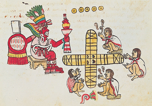 Patolli - The Ancient Game of Mexico by Egnogra