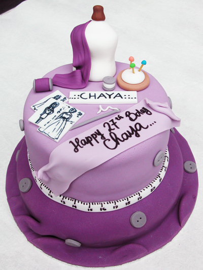 The Cake Shop: Fashion Designer's Birthday Cake