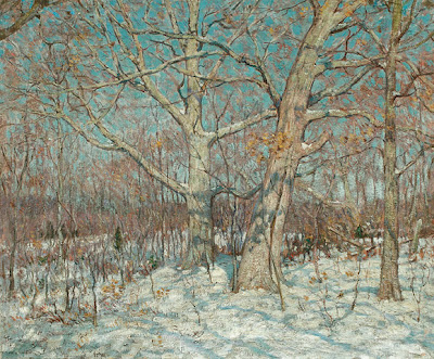 Clark Voorhees - Winter Scene, Old Lyme