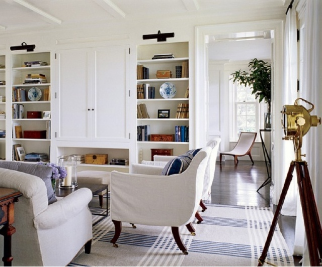 Lovely Living Rooms For A Design Loving Life : Love the Look for Less : Hamptons style living room