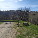 Locked Gate below the Guthega Centre (89575)