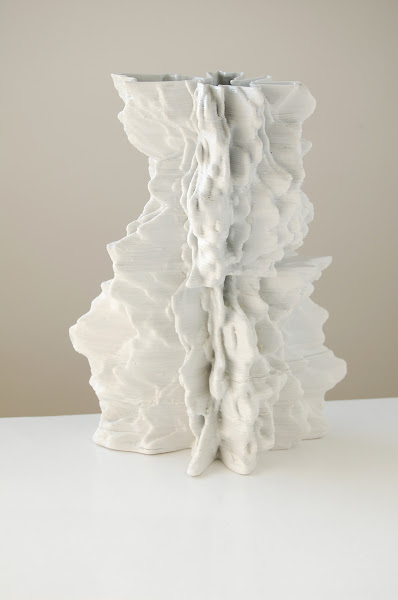 Jonathan Keep - Iceberg, 3D printed ceramics