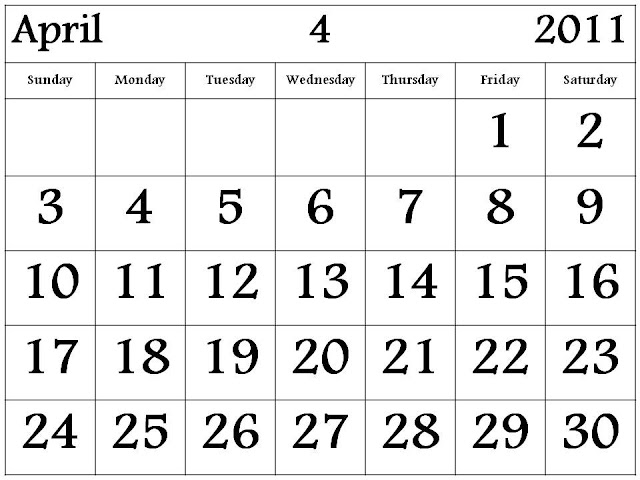 printable calendars march 2011. apr 3, 2011 free printable