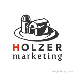 Holzer Marketing logo design Denver, Colorado