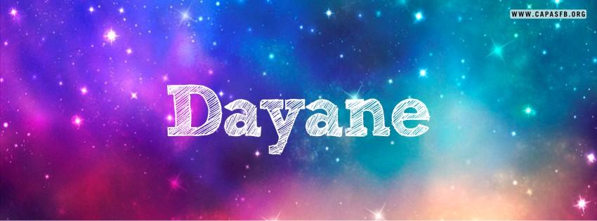 Capas para Facebook Dayane