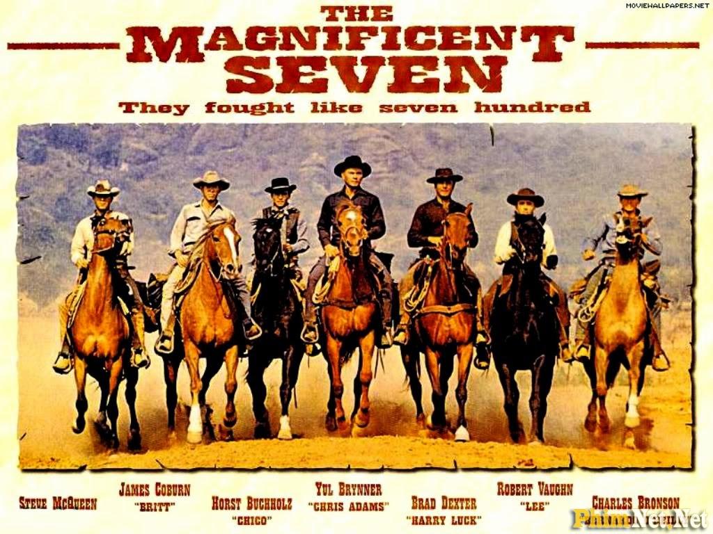 Xem Phim Bảy Tay Súng Oai Hùng Tái Xuất - Return Of The Magnificent Seven - Wallpaper Full HD - Hình nền lớn
